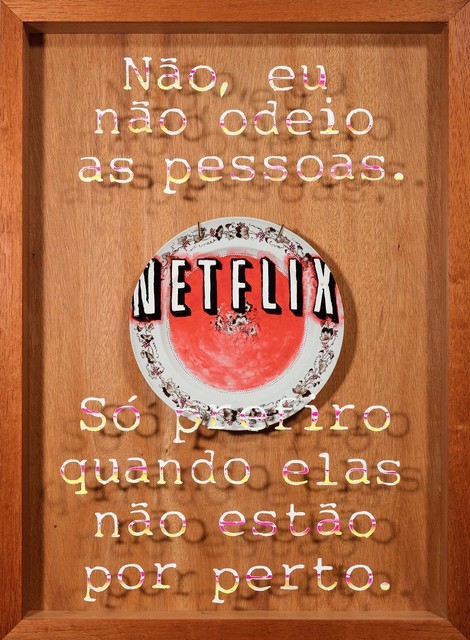 """, 'Série """"A história é contada pelos vencedores"""" - Cia das Índias Versus Netflix,' 2016, Luciana Caravello Arte Contemporânea"""