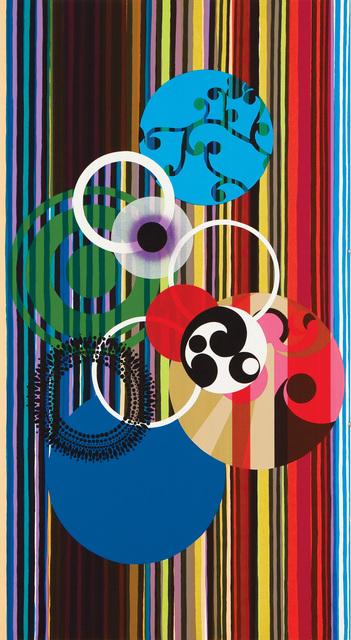 Beatriz Milhazes, 'Os cisnes (The Swans)', 2003, Marlborough Graphics