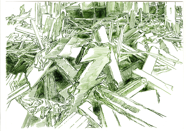 , 'Composition 19,' 2016, Galerija VARTAI