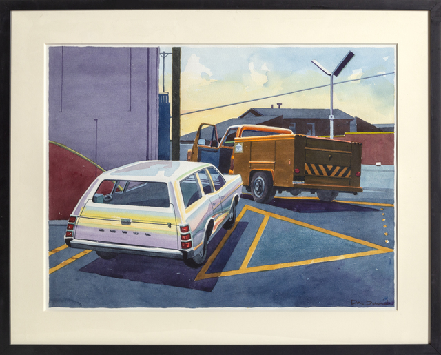 Don david, 'Dodge and Truck', 1980, RoGallery