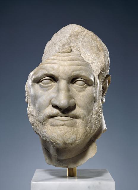 'Portrait of a Bearded Man', 160 -150 BCE, J. Paul Getty Museum