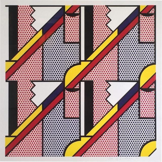 Roy Lichtenstein, 'Modern Print', 1971, Susan Sheehan Gallery