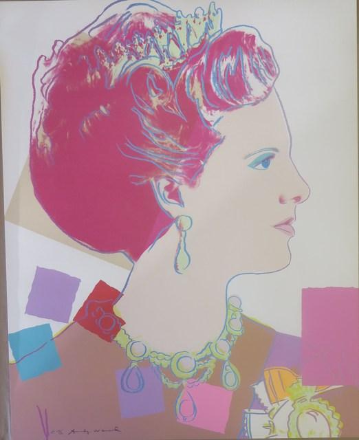 Andy Warhol, 'Queen Margrethe II of Denmark II.342 Royal edition', 1985, OSME Fine Art