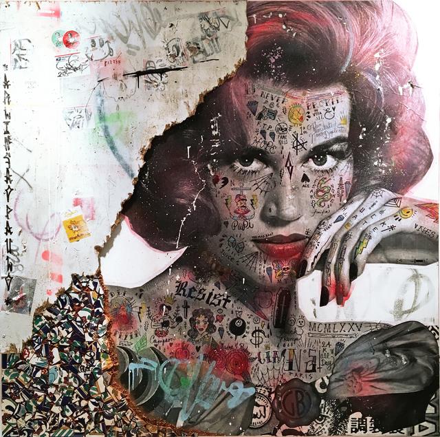 , 'Lady Jane (Jane Fonda),' 2018, NextStreet Gallery