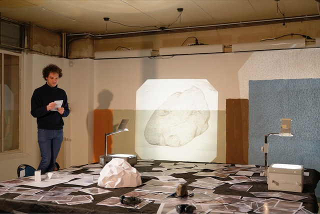 , ' Speculation About Two Unidentified Objects (Workshop),' 2014, Fondation d'Entreprise Galeries Lafayette