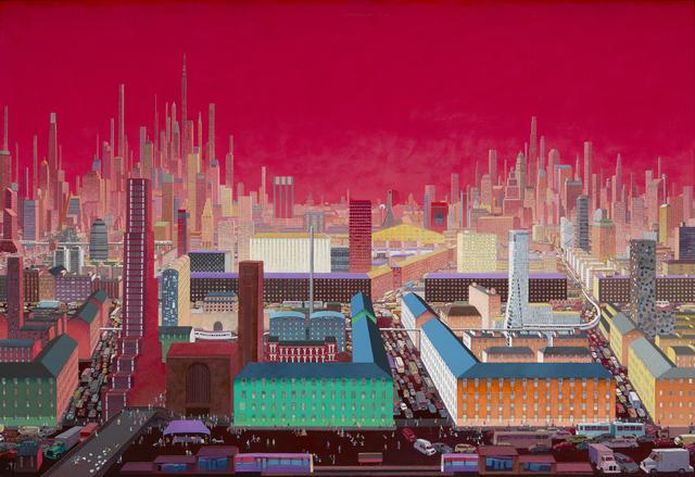 Zhang Gong, 'Metropolis No.1', 2015, Kwai Fung Hin