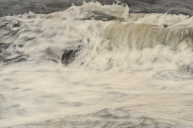 Clifford Smith, 'Gray Surf III', 2013, Painting, Oil on linen, Gerald Peters Gallery