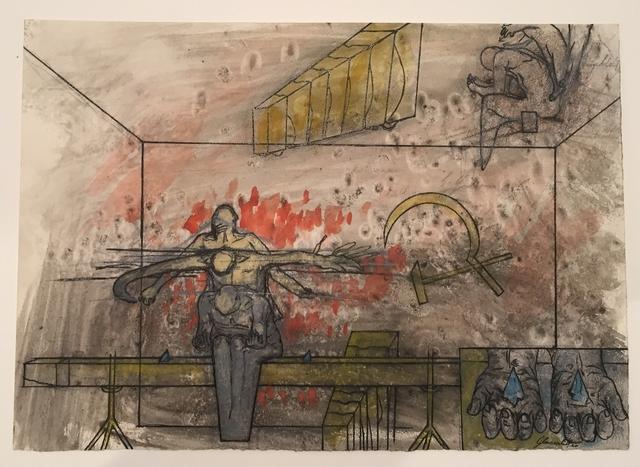 , 'Ohne Titel (Glassplitter),' ca. 1970, Galerie Elisabeth & Klaus Thoman