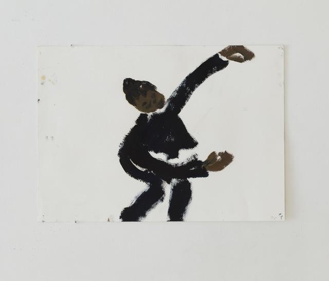 , 'Eve dansant dans l'atelier,' 2017, Eric Dupont