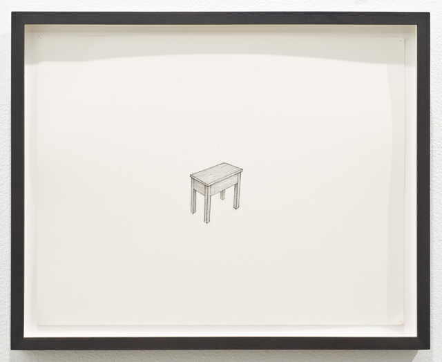 , 'Untitled (table),' 2013, Lora Reynolds Gallery