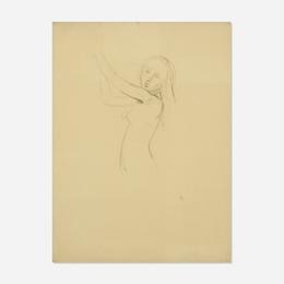Untitled (study for Nu de Profil)