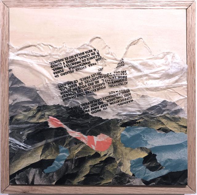 , 'Landscape (plastic wrap),' 2019, Deep Space Gallery