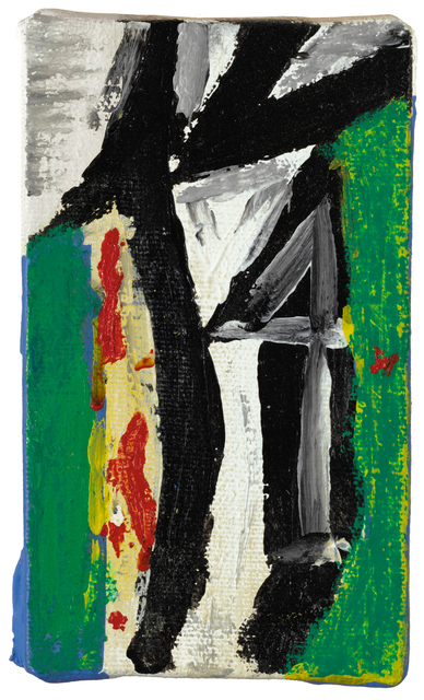 Robert Motherwell, 'Untitled (with Green, Yellow and Red)', 1976-1986, Sotheby's: Contemporary Art Day Auction