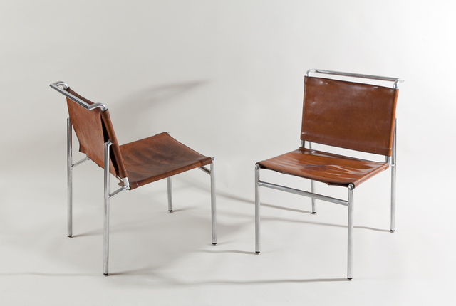 Eileen Gray, 'Pair of chairs,' ca. 1930, Galerie Anne-Sophie Duval