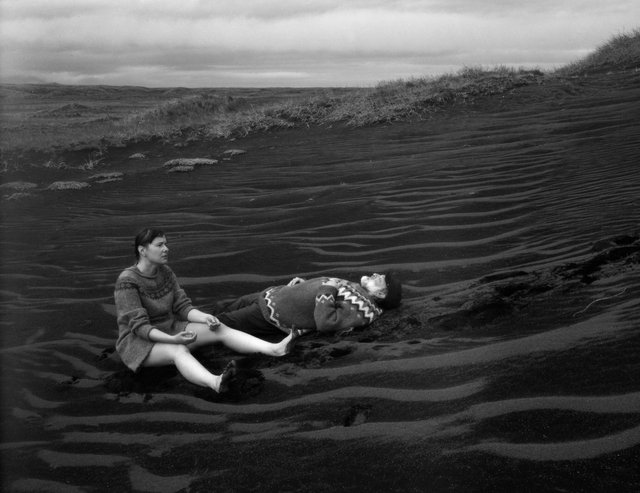 , 'Defeat, Self Portrait with Neil, Héraðsandur, Iceland,' 2015, Vision Neil Folberg Gallery