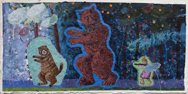 , 'Bruges Bear and American Groundhog,' 2018, Les Yeux du Monde Gallery