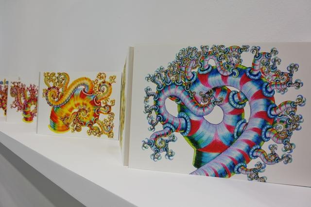 , '手稿屏風Folding Panel_數位輸出,木板_Print, Wooden Board_100x182x1cm_,' 2000, MOCA Taipei