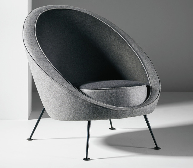 Ico Parisi, ''Uovo' chair, model no. 813', c. 1953, Geoffrey Diner Gallery