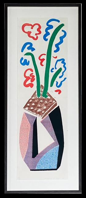 David Hockney, 'Red Blue & Green Flowers', 1986, ARCHEUS/POST-MODERN