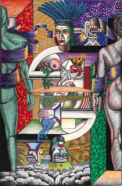 , 'Reconstruction,' 1989, Warnock Fine Arts