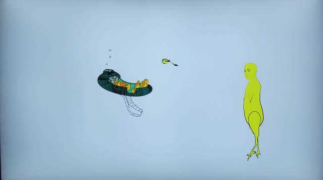 , 'El viaje de Pollo,' 2017, Galería Weber-Lutgen