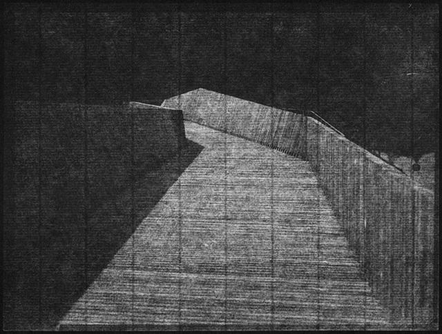 """Martin Becka, '""""BKVV#02        46,532521          6,645521""""  ', 2015, East Wing"""