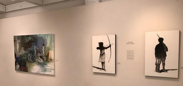 Joshua Flint, 'Dressing Room', 2017, Painting, Oil and acrylic on canvas, Garvey   Simon