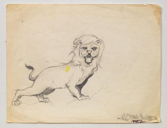 Lee Quinones, 'Study #1 For Lion's Den', 1982, James Fuentes