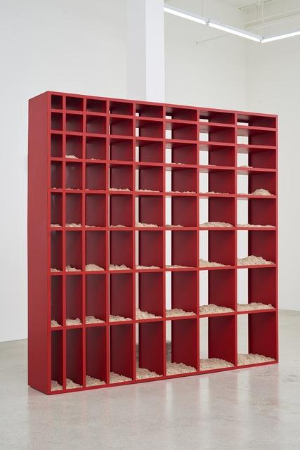, 'Sand Shelf #1,' 2016-2017, Jessica Silverman Gallery