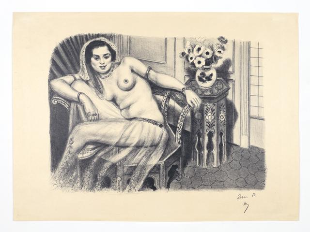 Henri Matisse, 'Hindoue à la jupe de tulle', 1929, The Greenberg Gallery