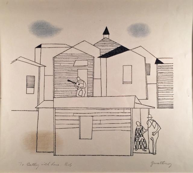 Robert Gwathmey, 'A SECTION', 1961, Edward T. Pollack Fine Arts