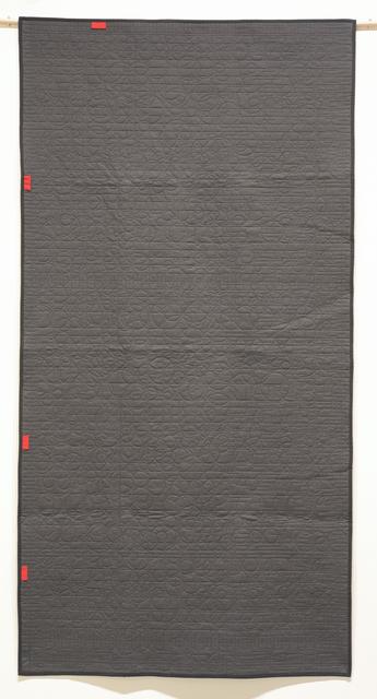 , 'Generative Textile Drawing (lg2),' 2018, Joseph Nease Gallery