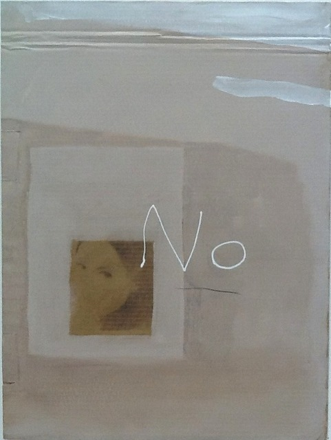 , 'No,' 2014, Jane Lombard Gallery