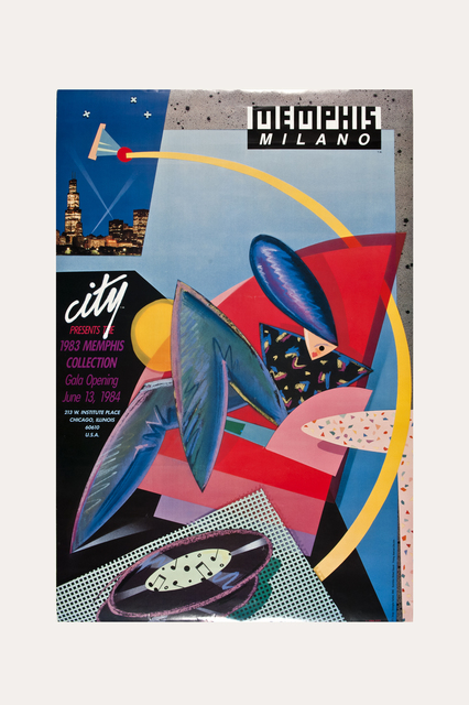 , 'Chicago City Store Memphis/Milano Poster 1984,' 1984, The Modern Archive