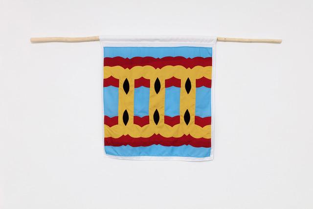 Samson Kambalu, 'Beni Flag: Homo Sacer - Bare Life Republic', 2019, Galerie Nordenhake