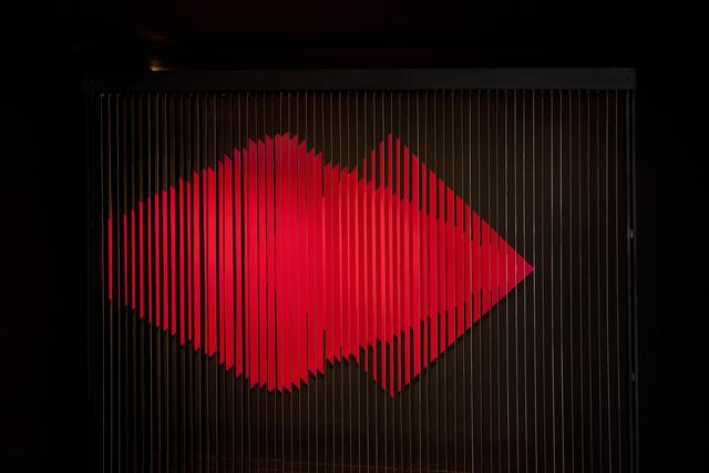 , 'Cloison à lames réfléchissantes,' 1966-2005, Galeria Nara Roesler