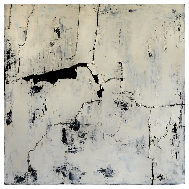, ' Baska acrylic, sinew, wire, board,' , galerie 103
