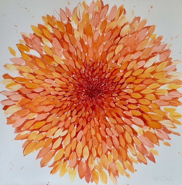 Idoline Duke, 'Big Summer Orange', 2018, ARC Fine Art LLC