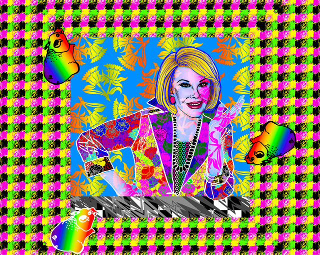 ", '""Joan Rivers"",' ca. 2016, Parlor Gallery"