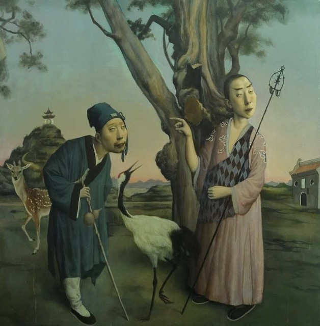 Jeffrey Wang, 'A Buddhist and a Taoist Priest', 2016, Gallery House