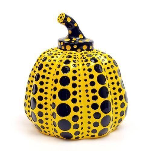 Yayoi Kusama, 'Pumpkin (Black and Yellow)', 2013, MSP Modern