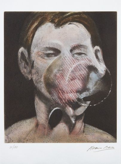 Francis Bacon, 'Portrait of Peter Beard', 1976, Chase Contemporary