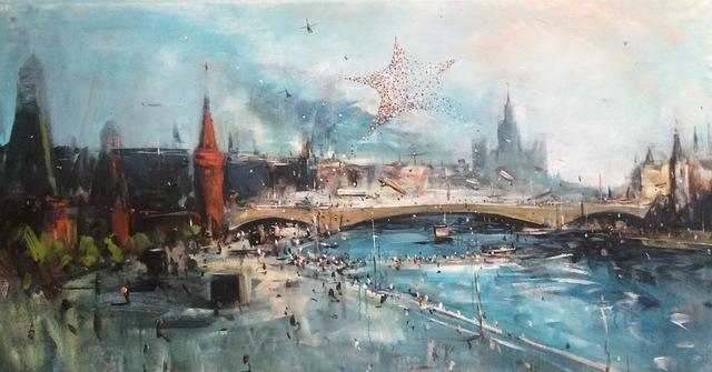 ", '""Kremlin 3"",' 2015, Krokin Gallery"