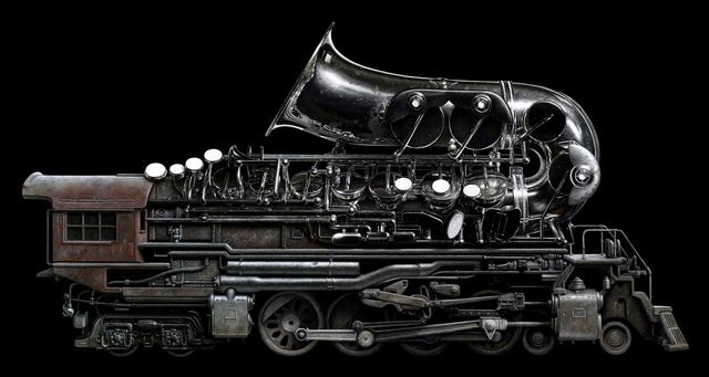 , 'Brass Locomotive,' 2018, ARCADIA CONTEMPORARY