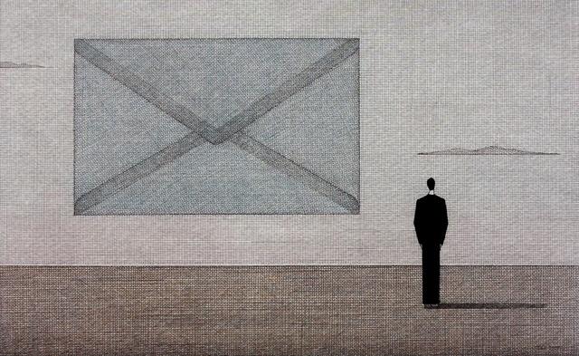 , 'Unwritten letter,' 2014, Gallery Katarzyna Napiorkowska | Warsaw & Brussels
