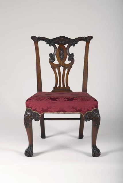 'Chair', ca. 1750-1760, Cooper Hewitt, Smithsonian Design Museum