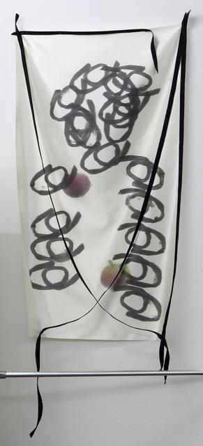 , 'Nacktes Erbe: Zwei Äpfel, half up,' 2017, Barbara Gross