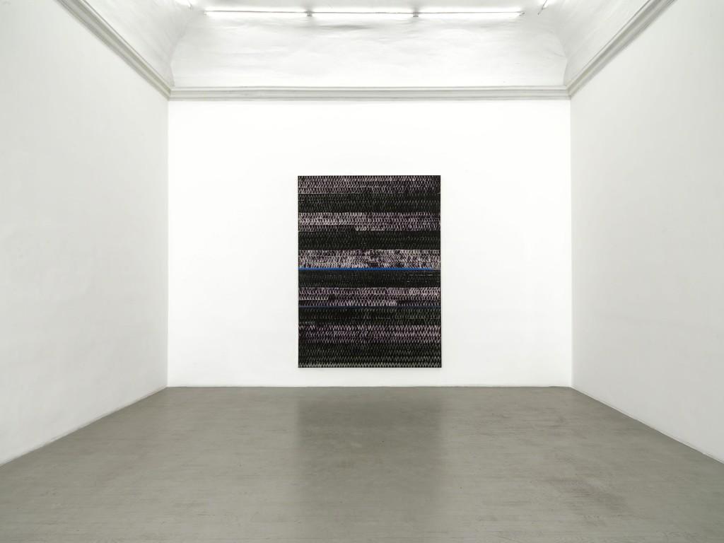 Juan Uslé - Pedramala - partial view of the exhibition - December 2018 – Galleria Alfonso Artiaco, Napoli - photo credit: Luciano Romano