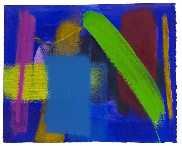 Wilhelmina Barns-Graham, 'Untitled', 2001, Painting, Acrylic on paper, Waterhouse & Dodd