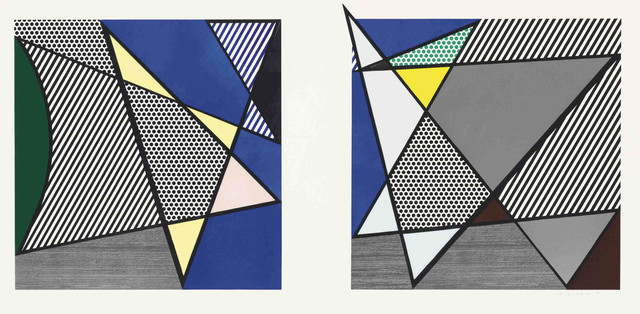 , 'Imperfect Diptych 46 1/4'' x 91 3/8'', from: Imperfect Series,' 1988, Shapero Modern